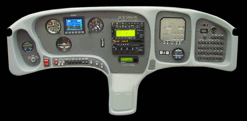 Aerotronics, Inc  - Experimental Panels - Gallery - Glasair
